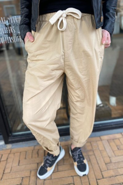 10 days oversized pants soft beige