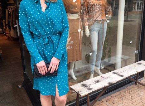 Peck argyle dress l/s 10181