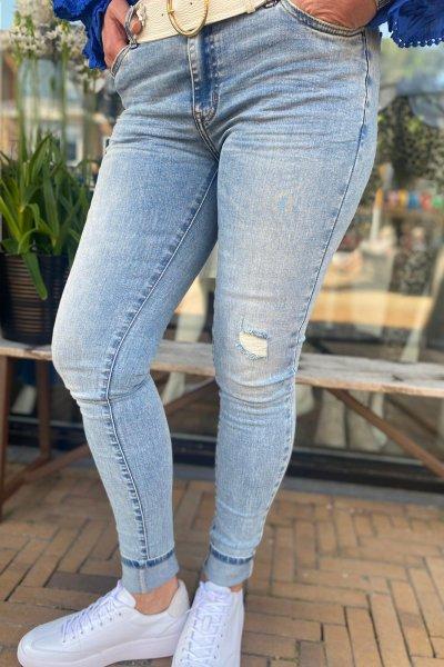 Circle of trust jeans Blue desert poppy S21_11_3263