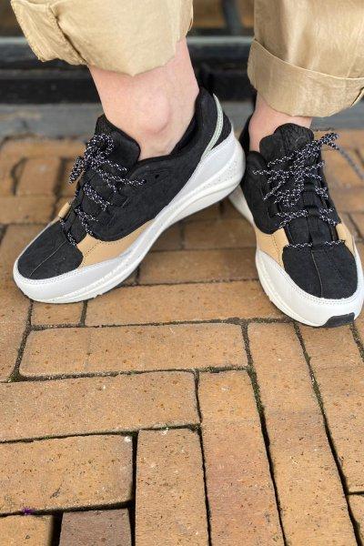 Woden sneakers Malou cork WL615