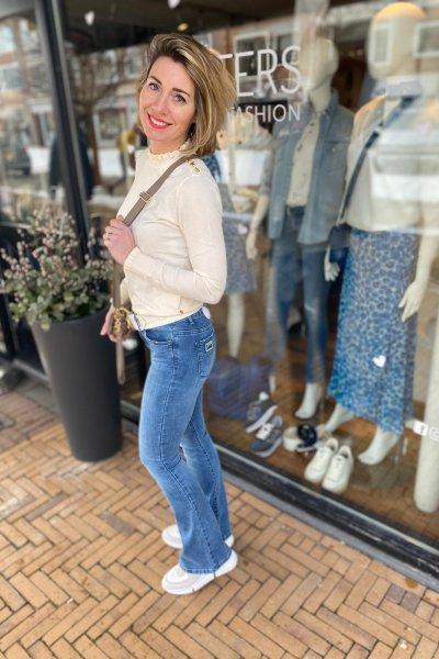 Lois jeans Ram Raval flared cobalt stone lengte 32