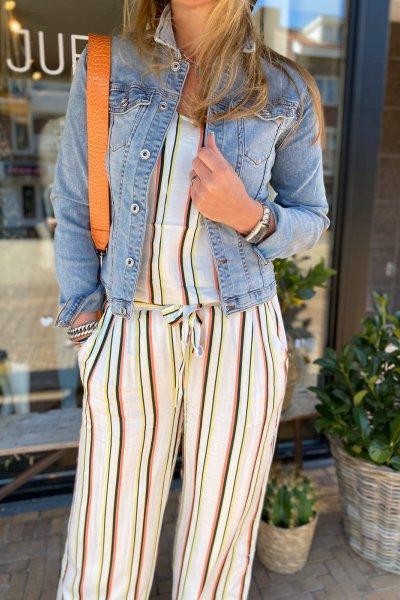Fenna stripes top