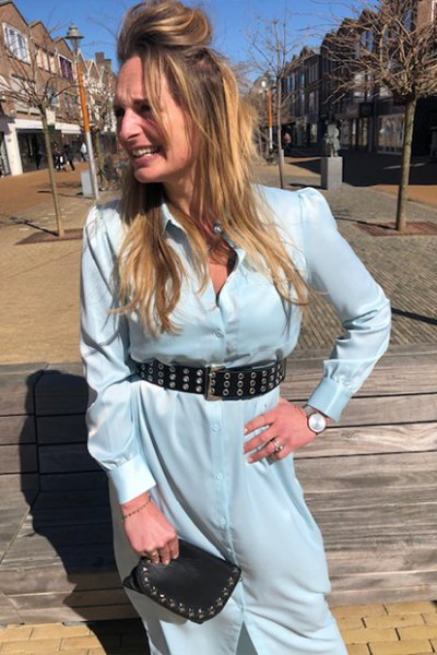 Provence dress light blue