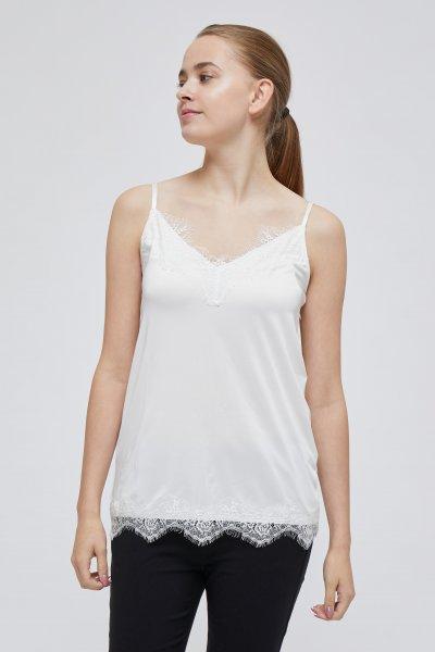 Minus top off white  2741