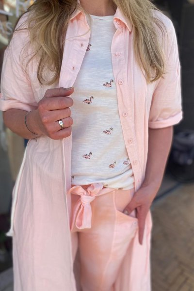 Fabienne Chapot Phil swan t-shirt CLT-195-TSH-SS21