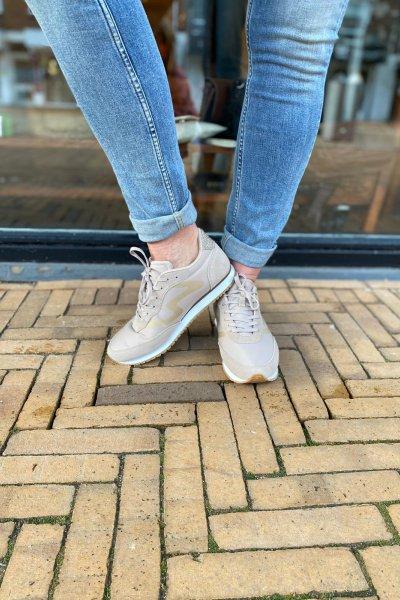 Woden Sneakers Olivia metallica WL614