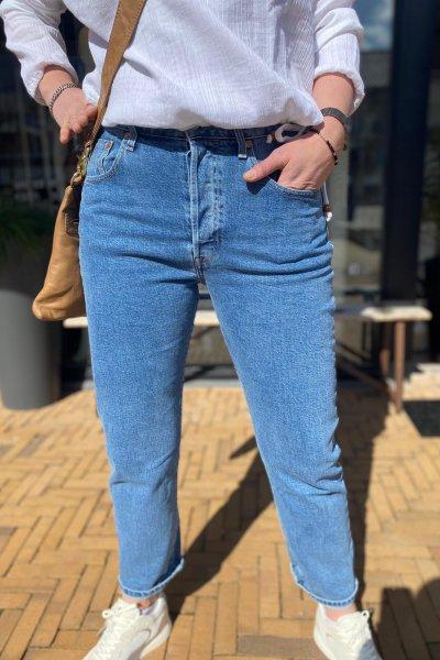 Levis 501 jeans crop l30 36200-0157