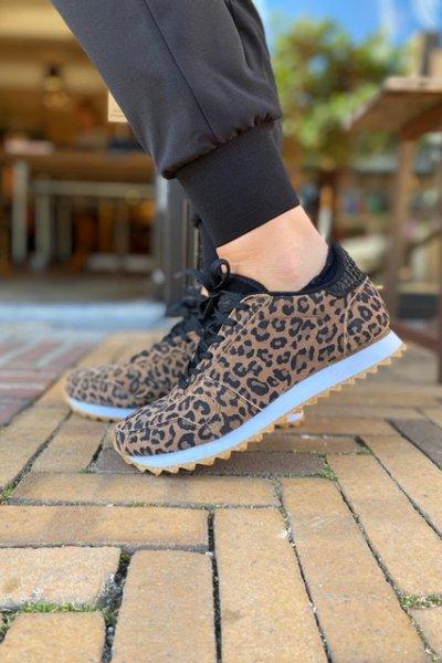 Sneakers Woden leopard