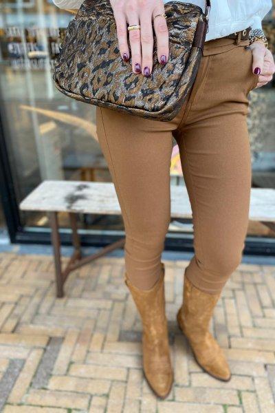 Minus Carma pants Walnut brown MI1868