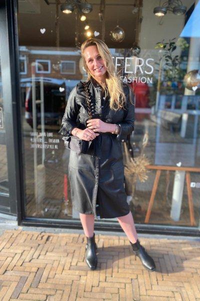 Ibana Elizabeth jurk / jas zwart