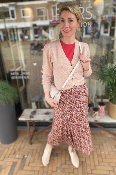 Minus Diana knit cardigan lavender MI3931