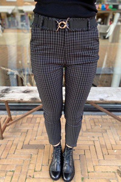 Minus broek New carme check 7/8 pants