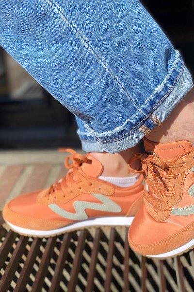 Woden sneakers  Peach/desert WL269Oliviall